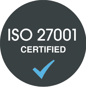 ISO certified 27001